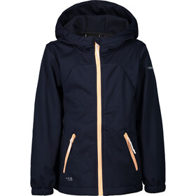 Icepeak Kimry Softshell Jacket Kids, dark blue